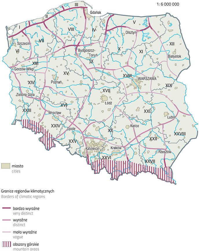 Na Leśnik Regionalizacje Przyrodnicze Polski