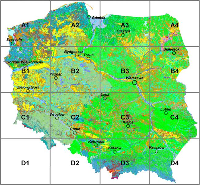 Mapa Roślinności Potencjalnej Polski On Line Zakład Geoekologii I
